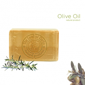 Olive Oil Soap White with Herbs 200gr