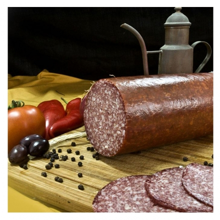 Greek Salami Special from Corfu (finely chopped)  1800gr from Corfu