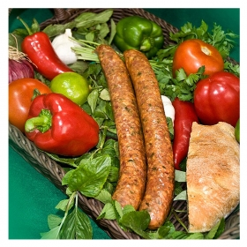 Traditional Sausages of Corfu with Leeks (2-3 pcs) 500gr