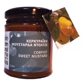 Corfiot Sweet Fruit Mustard 212ml
