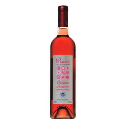 Greek Grammenos Family Rose Wine from Greece 750ml from Corfu