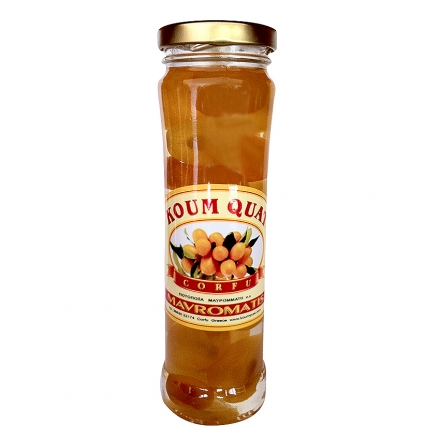 Greek Kum Quat Sweet Classic 900gr from Corfu
