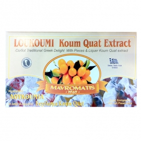 Loukoumi with Koum Quat extract 200gr