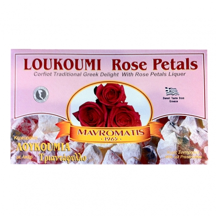 Greek Loukoumi with Rose Petals Liqueur 200γρ from Corfu