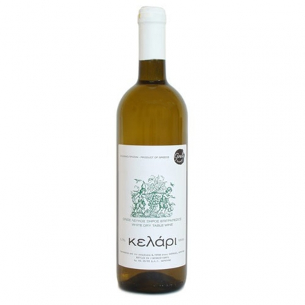Greek Goulis Kelari White Wine 750ml from Corfu