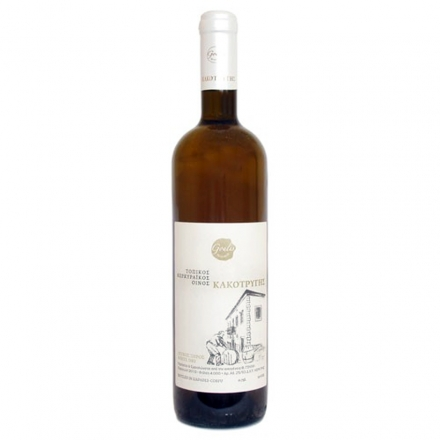 Greek Goulis Kakotrygis White Wine 750ml from Corfu