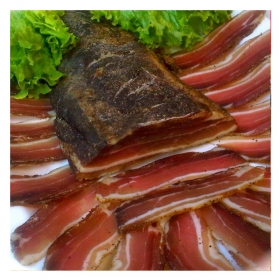Smoked Pancetta from Corfu 200gr
