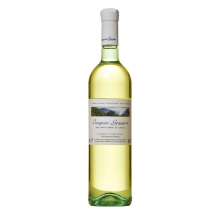 Greek Grammenos Family White Dry Wine from Greece 750ml from Corfu